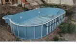 Oválný bazén LAMIPLASTIK