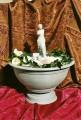 Dekorační fontána s řeckou sochou Afrodite