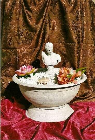 Dekorační fontána s řeckou sochou Herma LAMI-DEKOR
