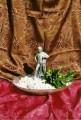 Dekorační fontána se sochou rytíře