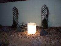 Svítící květináč - truhlík Lamiplastik